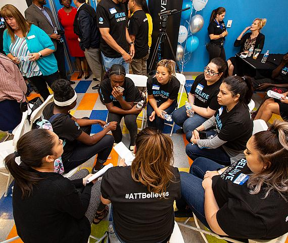 """AT&T Launches """"Believe Las Vegas"""" Initiative to Help Homeless Youth"""