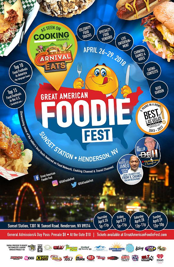 Cooking Channel to Film New Show at Great American Foodie Fest April 26-29