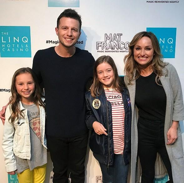 "Giada De Laurentiis Attends ""Mat Franco - Magic Reinvented Nightly"" at The LINQ Hotel & Casino"