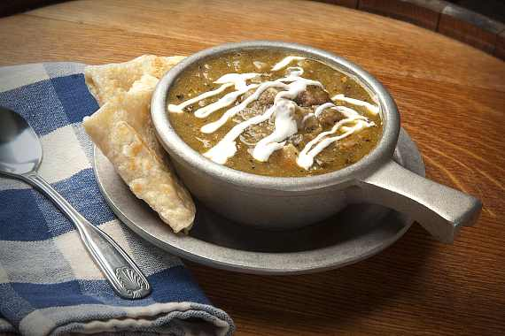 Gilley's CT Pork Green Chili