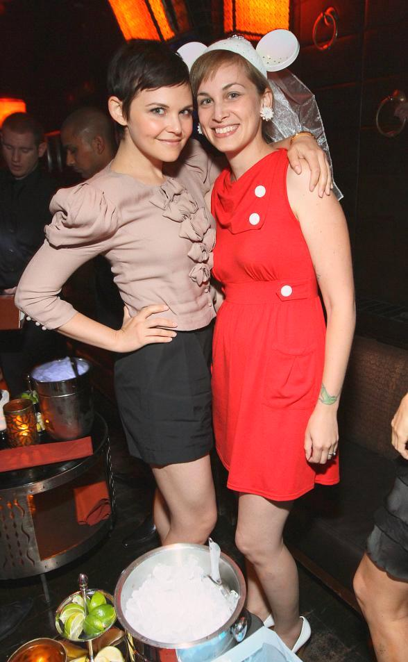Ginnifer Goodwin and sister Melissa at LAVO