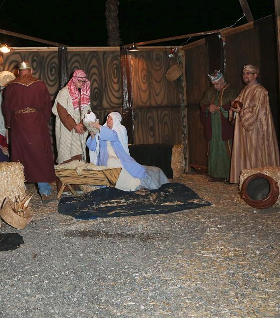 Living Nativity courtesy of branches of the United Methodist Church, starting December 4, Thursdays to Saturdays and December 21-23