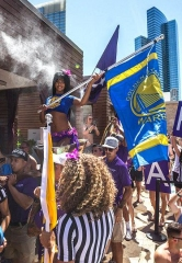 Golden State Warriors Celebrate their Championship at Marquee Dayclub in Las Vegas