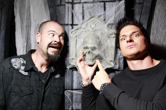 Aaron Goodwin and Zak Bagans