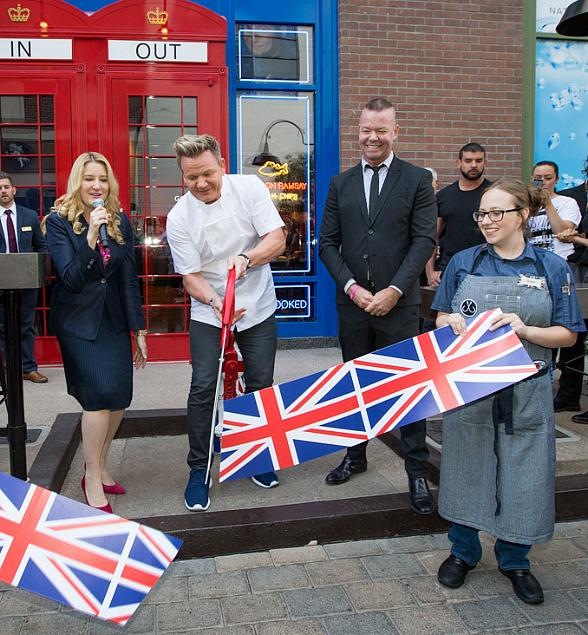 Gordon Ramsay Fish & Chips Now Open at The LINQ Promenade