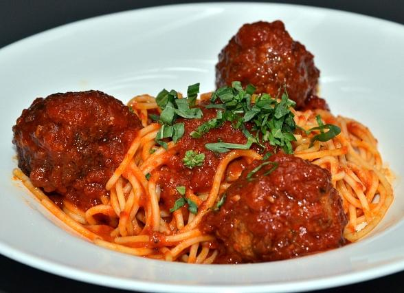 Gram's Spaghetti and Meatballs