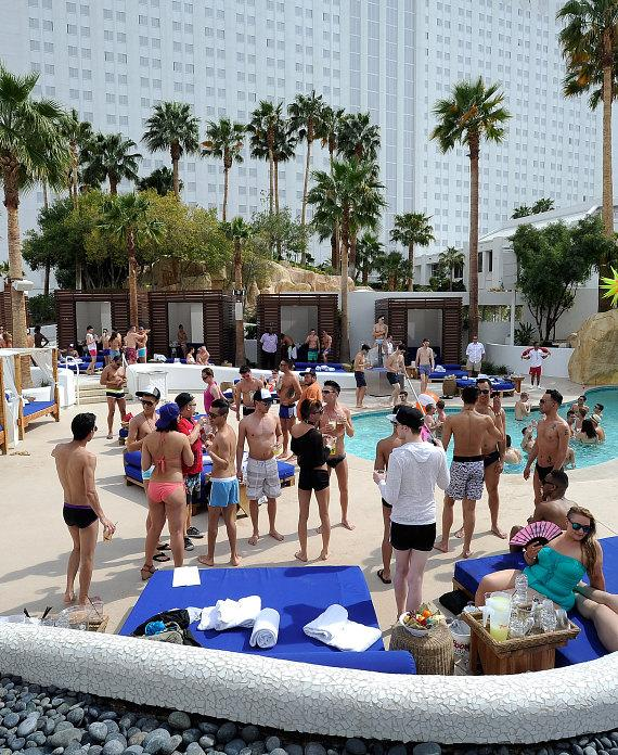 The Grand Opening of Xposed! in the Tropicana Beach Club at Tropicana Las Vegas