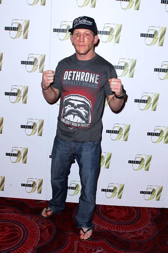 Gray Maynard after-fight party at Studio 54 Las Vegas