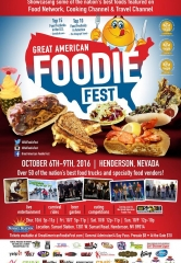 The Great American Foodie Fest returns to Sunset Station in Las Vegas on October 6th-9th