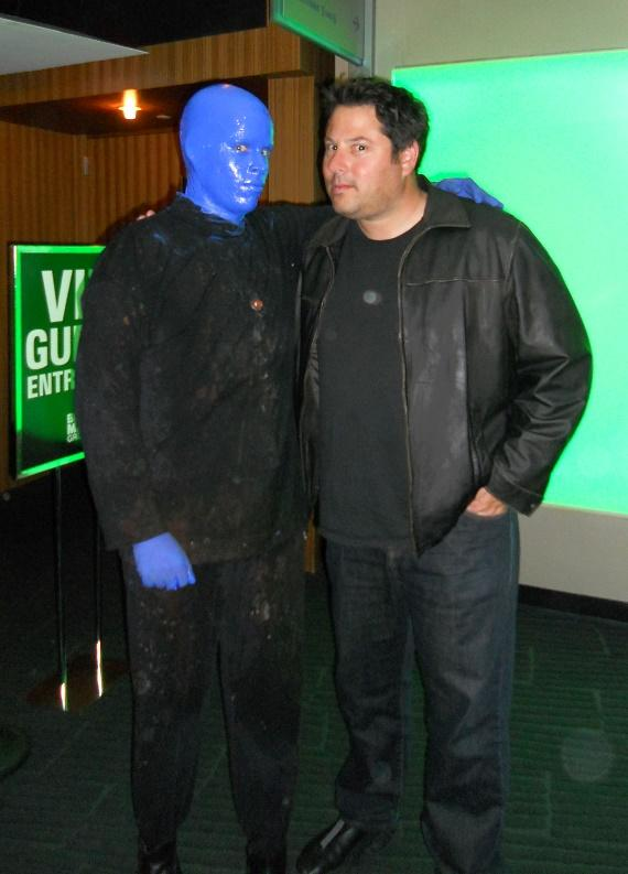 Greg Grunberg at Blue Man Group Las Vegas