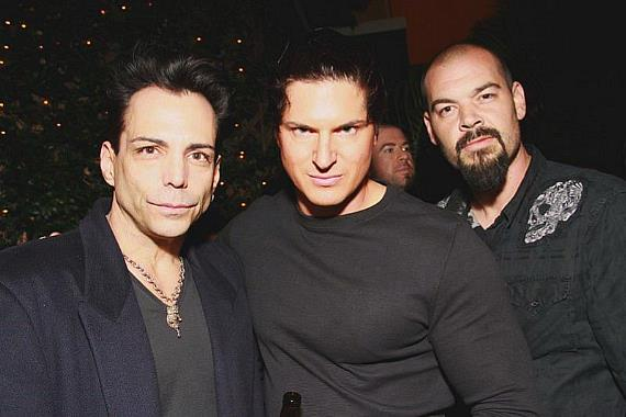 Richard Grieco, Zak Bagans and Aaron Goodwin