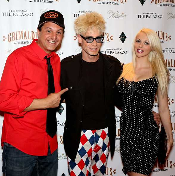 "Douglas ""Lefty"" Leferovic, Murray SawChuck and Chloe Louise Crawford of 'MURRAY Celebrity Magician'"