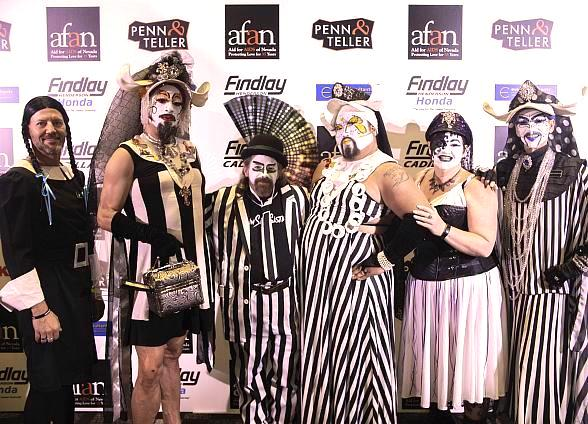 """Aid for AIDS of Nevada Celebrates 33rd Annual """"Black & White Party"""" at The Hard Rock Hotel & Casino"""