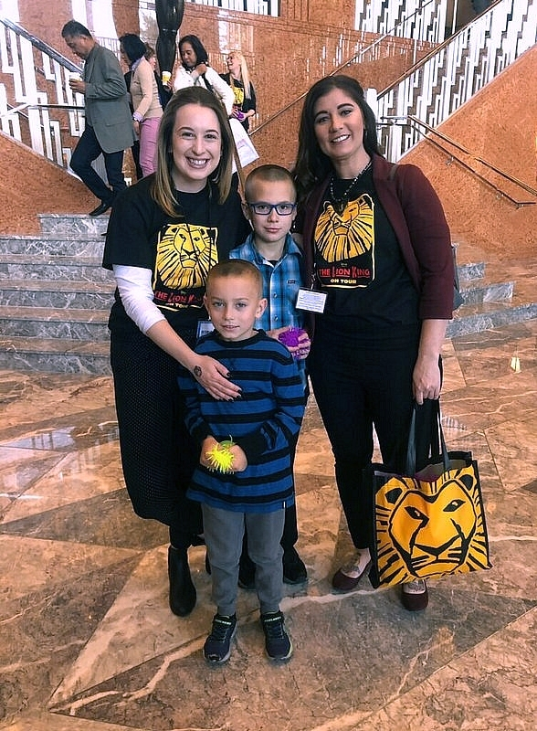 Over 1,000 Families Attend The Smith Center's Sensory-Friendly Performance of 'The Lion King' for Audiences with Special Needs