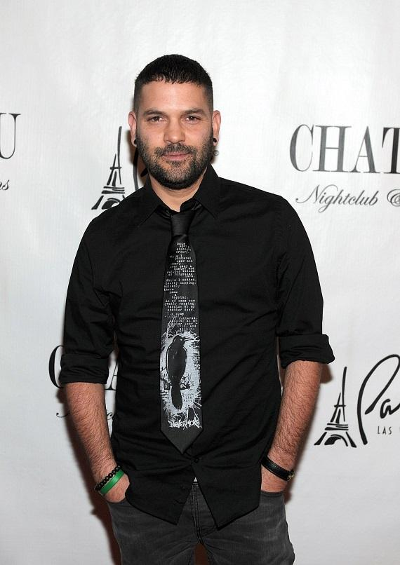 Guillermo Diaz on red carpet at Gallery Nightclub