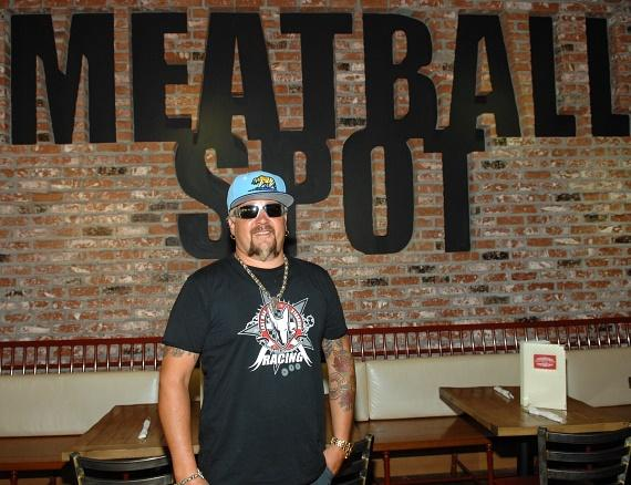 Guy Fieri dines at Meatball Spot