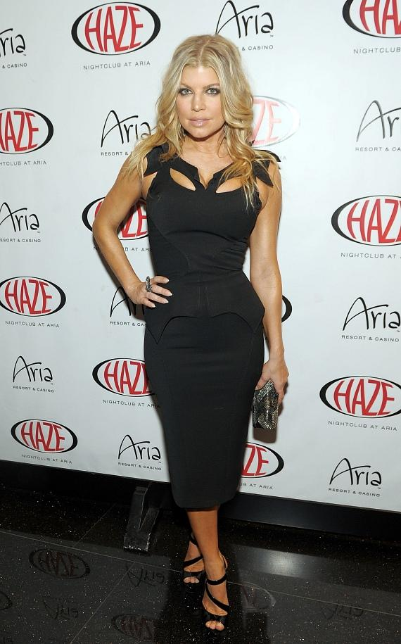 Fergie on the red carpet at HAZE