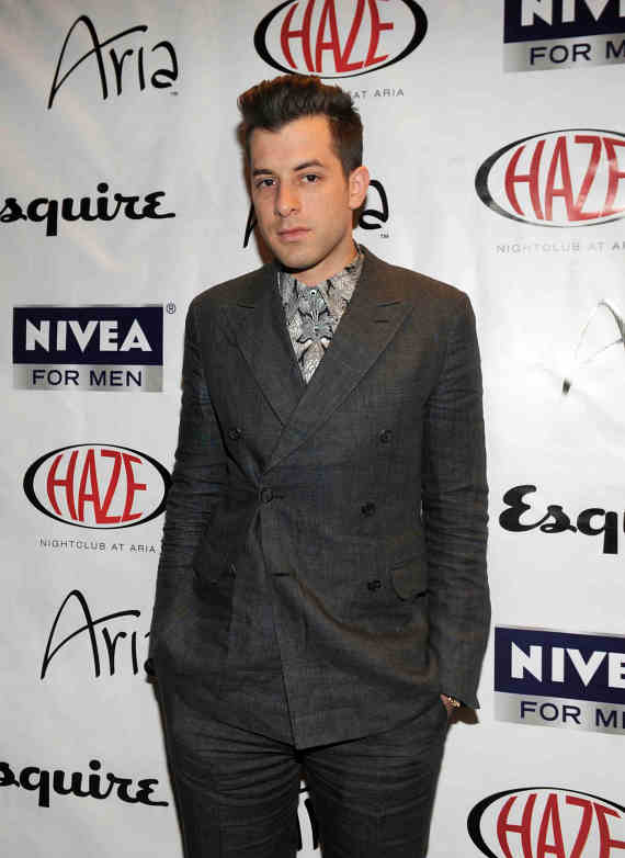 Mark Ronson at HAZE Nightclub