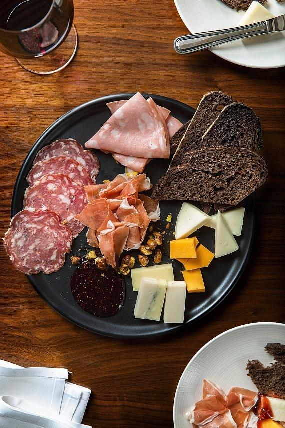 HEXX Cheese & Charcuterie Plate