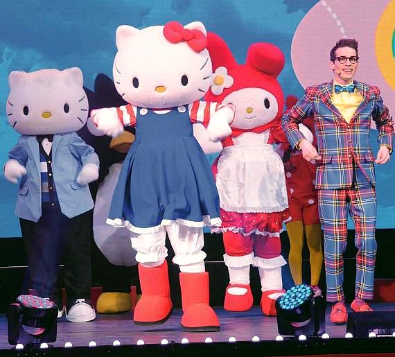 Hello Kitty's Supercute Friendship Festival stops at The Orleans Arena August 14-16