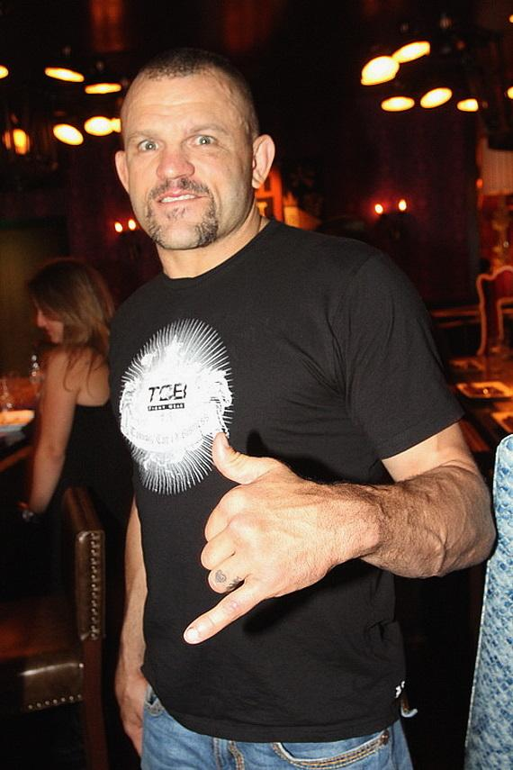 Chuck Liddell at Johnny Smalls