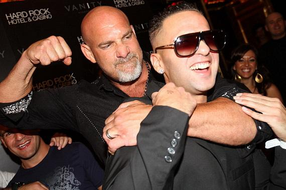 """Bill Goldberg and Mike """"The Situation"""" Sorrentino"""