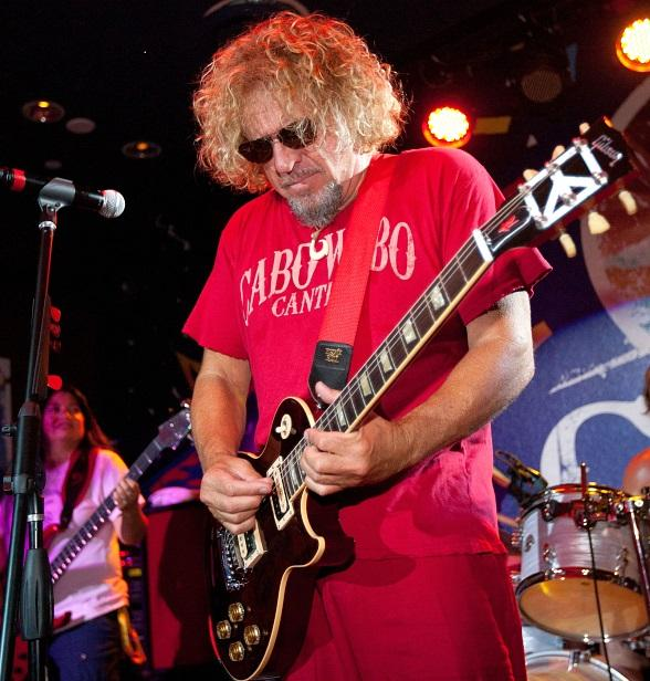 Sammy Hagar to Host 'Pro Football Thursdays' Kick Off Party at Cabo Wabo Cantina Nov. 11