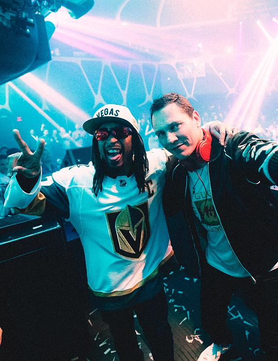 Tiesto and Lil Jon at Hakkasan