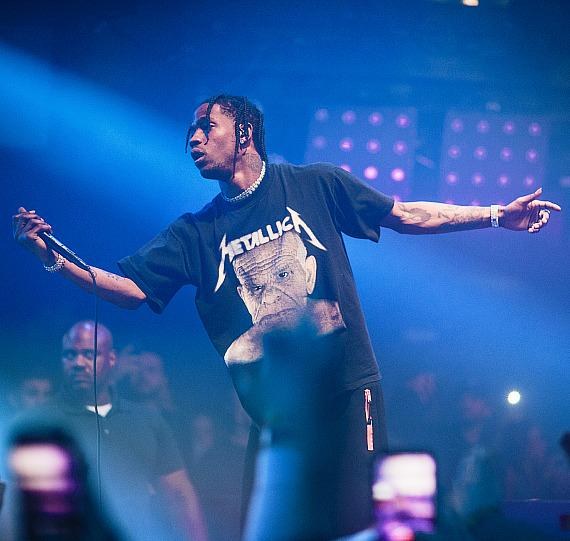 Travis Scott performs at Hakkasan