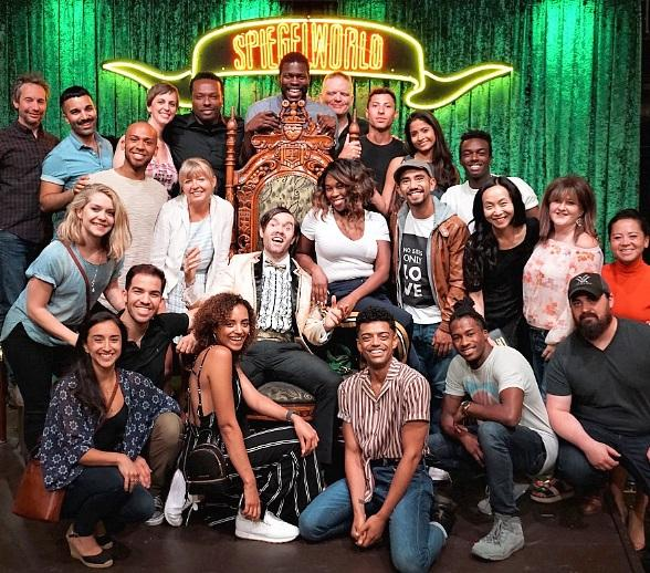 "Cast of ""Hamilton"" Attends ABSINTHE at Caesars Palace in Las Vegas"