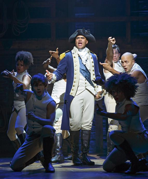 Christopher Jackson as George Washington