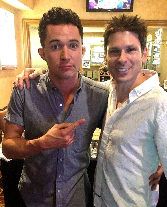 "Comedy Magician Mike Hammer Meets ""Cupcake Wars"" Host Justin William at Suncoast Hotel & Casino"