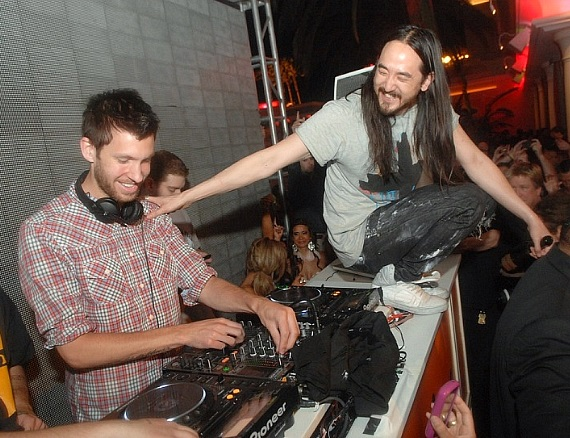 Calvin Harris and Steve Aoki