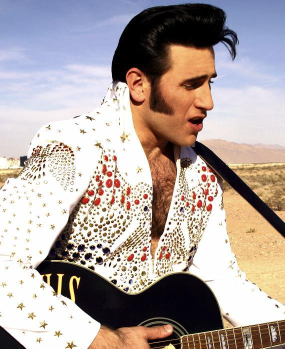 Harry Shahoian as ELVIS