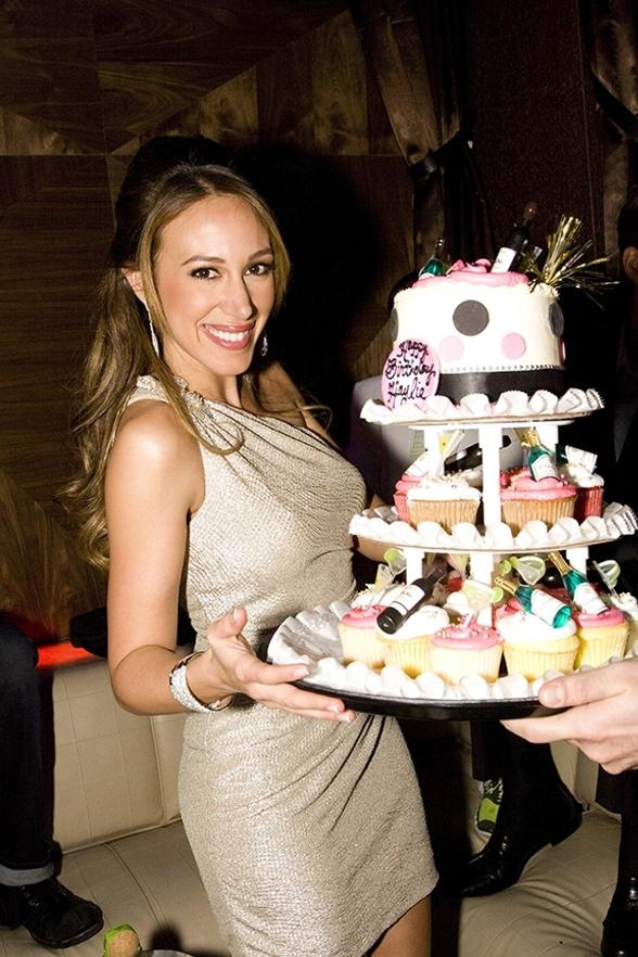 Haylie Duff Celebrates 25th Birthday at Vanity in Hard Rock Hotel