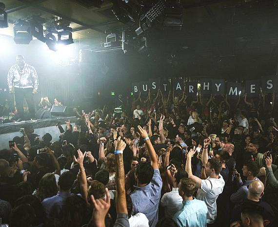 Wild at Heart inside OMNIA Nightclub Celebrates Two-Year Anniversary with Busta Rhymes
