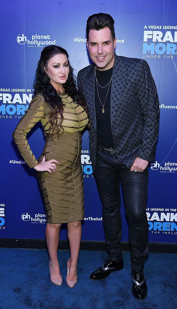 Heather Marianna and Frankie Moreno at Opening Night of FRANKIE MORENO - UNDER THE INFLUENCE at Planet Hollywood Resort & Casino