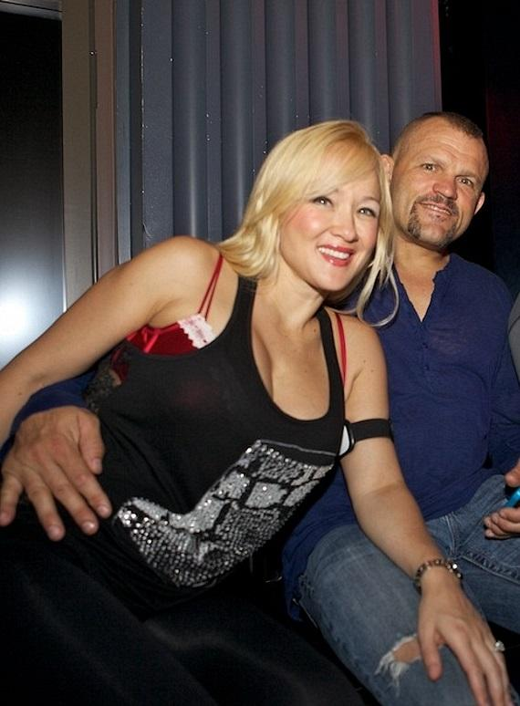 Heidi Northcott and Chuck Liddell at Chateau Nightclub and Gardens at Paris Las Vegas