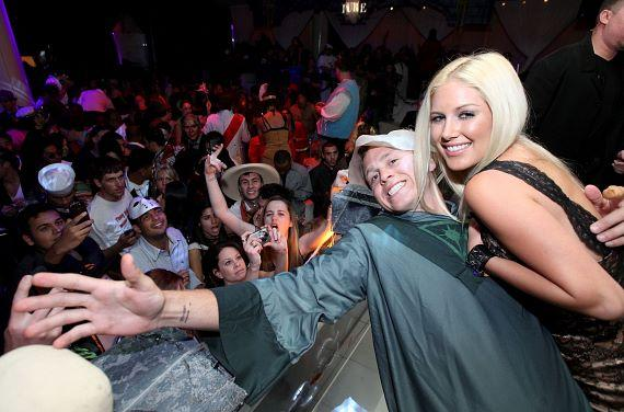 Heidi Montag and Spencer Pratt Host Halloween Bash at PURE Nightclub