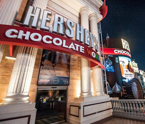 Hershey's Chocolate World Las Vegas Opens at New York-New York Hotel & Casino