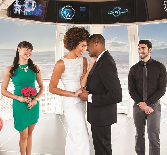 "Be a Part of History in Las Vegas on 12/13/14 and Say ""I Do"" for Free on The High Roller"