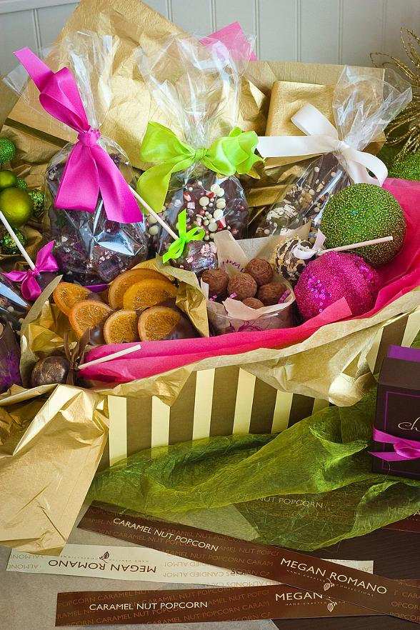 Holiday Gift Boxes from Chocolate & Spice