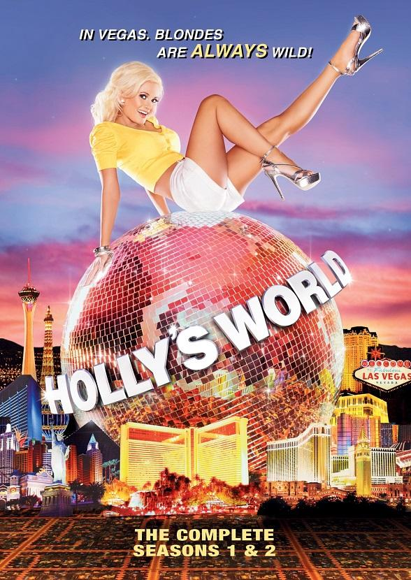 "Holly Madison to Celebrate ""Holly's World"" Seasons 1 and 2 DVD Release at Gallery Nightclub Oct. 14"