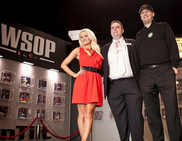 Holly Madison, Jack Effel and Phil Hellmuth