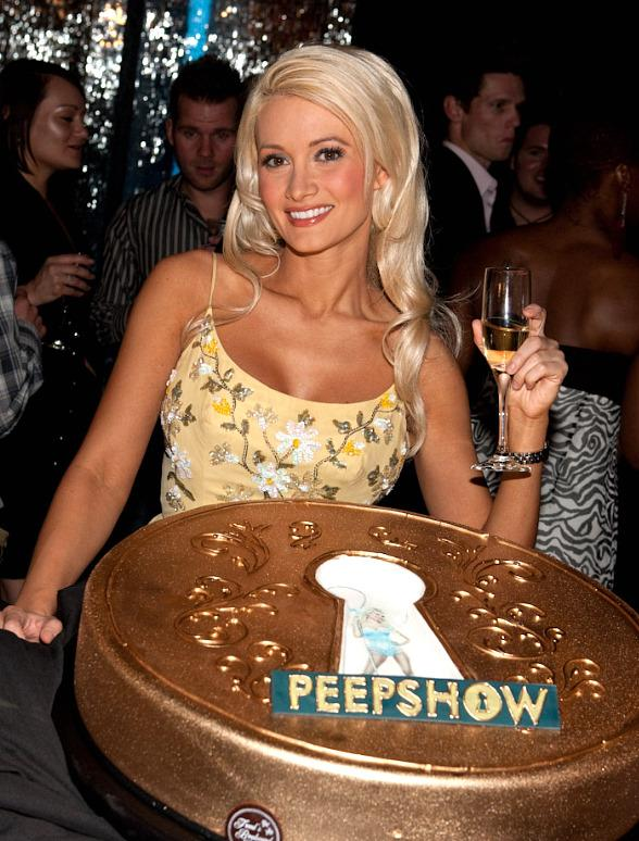 Holly Madison at PEEPSHOW Anniversary