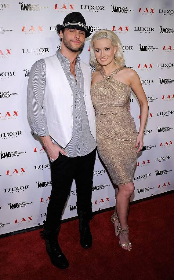 Holly Madison and Josh Strickland at LAX Nightclub