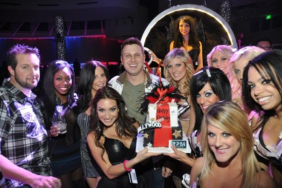 DJ Hollywood celebrates birthday at RPM Nightclub