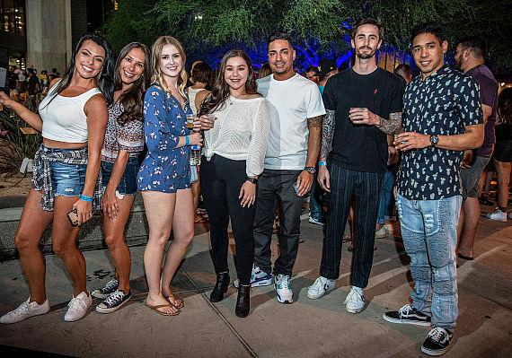 Group of Friends at Hopped Taco 2019