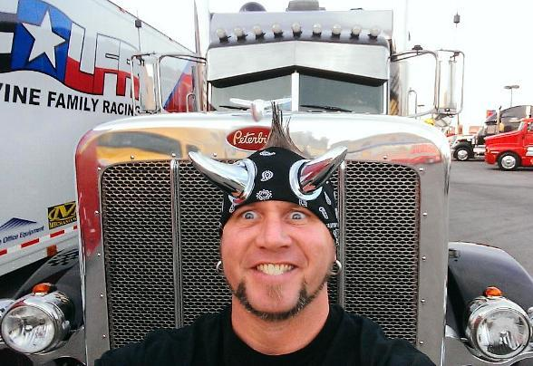 Horny Mike & Ryan Evans Join NASCAR Hauler Parade