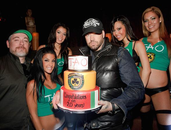 House Of Pain With Cake At TAO